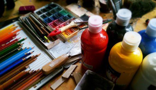 アートで絵の具のおすすめは?種類や使い方の違いをわかりやすく解説!