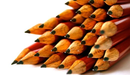 鉛筆画で初心者の題材の選び方や描き方は?鉛筆や紙の使い方は?