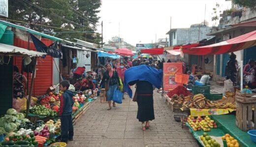 メキシコの観光地でオススメ!サンクリの市場へ行ってみたよ!